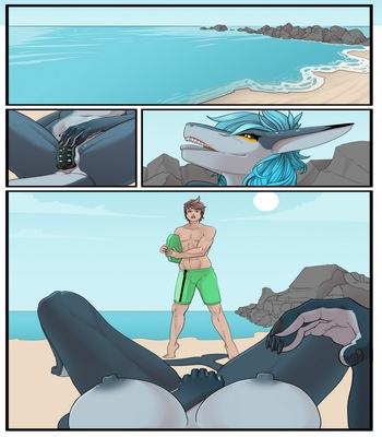 Beach Day comic porn sex 002