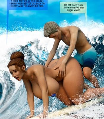 Beach Day comic porn sex 011