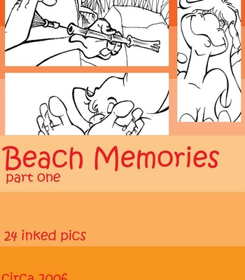 Porn Comics - Beach Memories 1