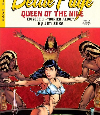 Porn Comics - Bettie Page – Queen Of The Nile 1