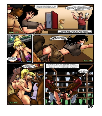 Betty And Veronica – Once You Go Black comic porn sex 027
