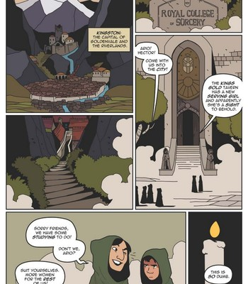 Beyond - The College Of Sorcery comic porn sex 003