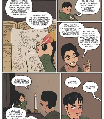 Beyond - The College Of Sorcery comic porn sex 005