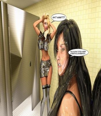 Bimbo Hair Curse comic porn sex 047
