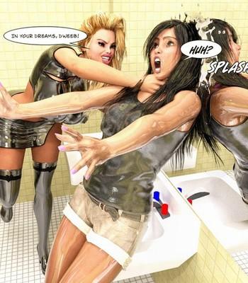 Bimbo Hair Curse comic porn sex 051