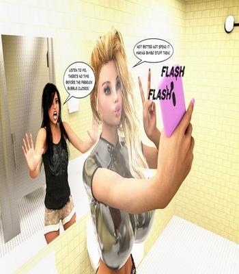 Bimbo Hair Curse comic porn sex 053