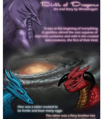 Porn Comics - Birth Of Dragons 1