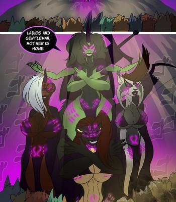Birth Of The Dark Goddess comic porn sex 017