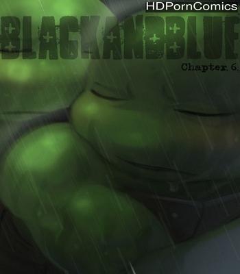 Porn Comics - Black And Blue 6
