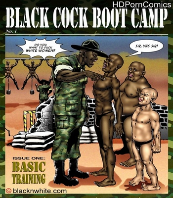 Porn Comics - Black Cock Boot Camp