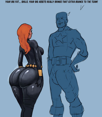 Porn Comics - Black Widow And Her Informant