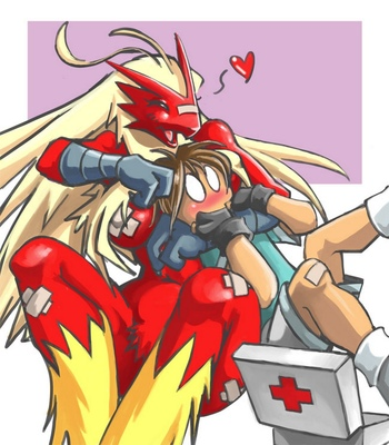 Blaziken-And-Trainer 2 free sex comic