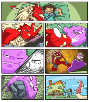 Blaziken-And-Trainer 9 free sex comic