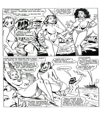 Blazing Foxholes 2 comic porn