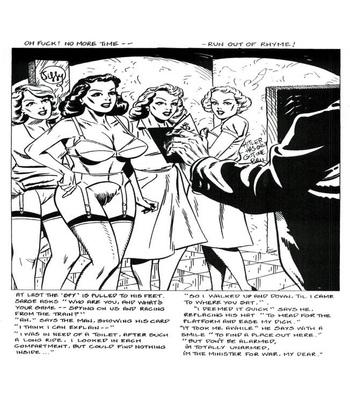 Blazing Foxholes 3 comic porn