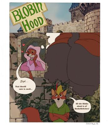 Porn Comics - Blobin Hood 1