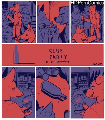 Porn Comics - Blue Party