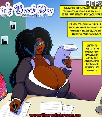 Porn Comics - Bodacia's Beach Day
