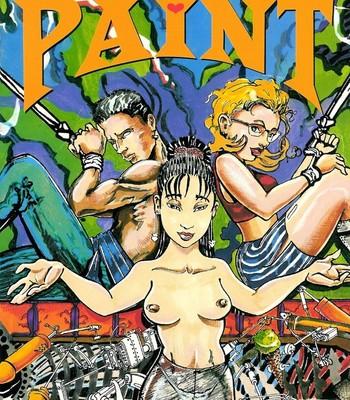 Porn Comics - Body Paint 1