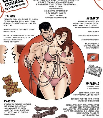 Porn Comics - Bondage Crash Course