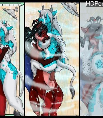 Porn Comics - Bonding In The Shower