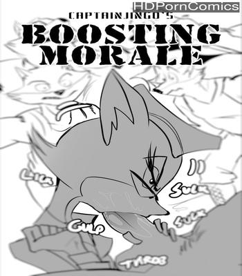 Porn Comics - Boosting Morale