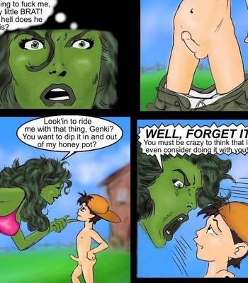 Breeding She-Hulk comic porn sex 007