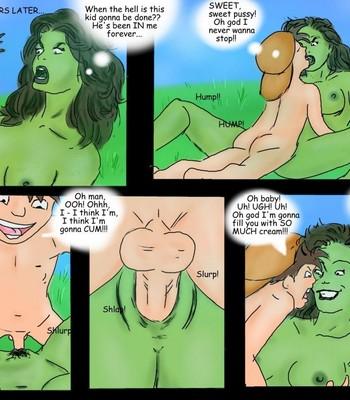 Breeding She-Hulk comic porn sex 017