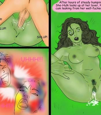 Breeding She-Hulk comic porn sex 019