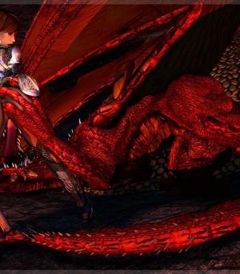 Bretonnia Knight - Dragon's Lair comic porn sex 007