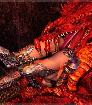 Bretonnia Knight - Dragon's Lair comic porn sex 009