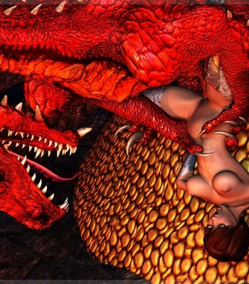Bretonnia Knight - Dragon's Lair comic porn sex 015