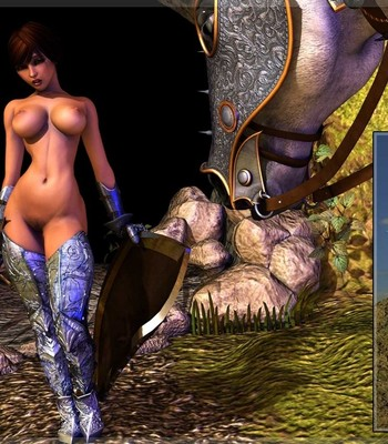 Bretonnia Knight - Dragon's Lair comic porn sex 025