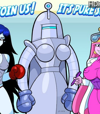 Porn Comics - Bubblegum's Boxer Bot