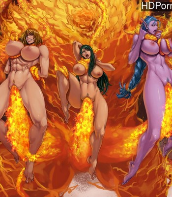 Porn Comics - Burn In Hell