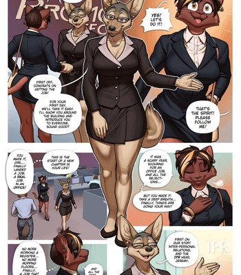 Business Casual comic porn sex 002