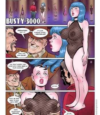 Porn Comics - Busty 3000
