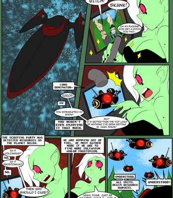 Camp Woody – The Extraterrestrial Green Mile comic porn sex 002