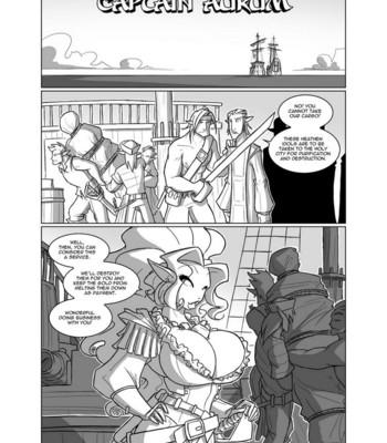 Porn Comics - Captain Aurum