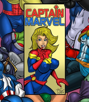 Porn Comics - Captain Marvel