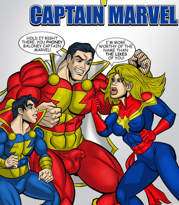 Porn Comics - Captain Marvel V Captain Marvel