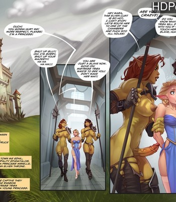 Porn Comics - Captive Of The Orcs (Futa)