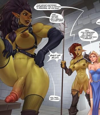 Captive Of The Orcs (Futa) comic porn sex 002