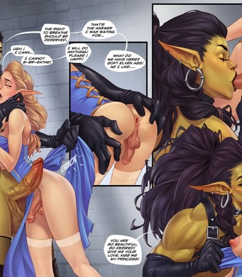 Captive Of The Orcs (Futa) comic porn sex 003