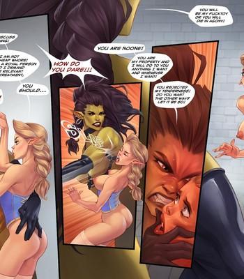 Captive Of The Orcs (Futa) comic porn sex 004