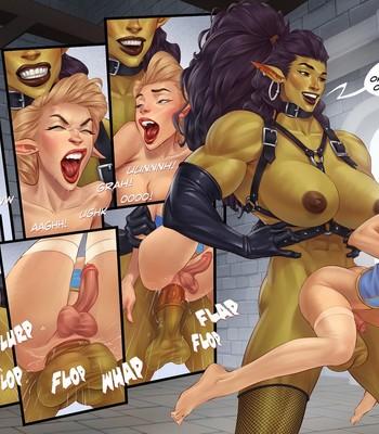 Captive Of The Orcs (Futa) comic porn sex 011