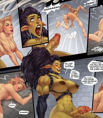 Captive Of The Orcs (Futa) comic porn sex 015