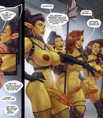 Captive Of The Orcs (Futa) comic porn sex 020