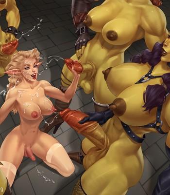 Captive Of The Orcs (Futa) comic porn sex 024