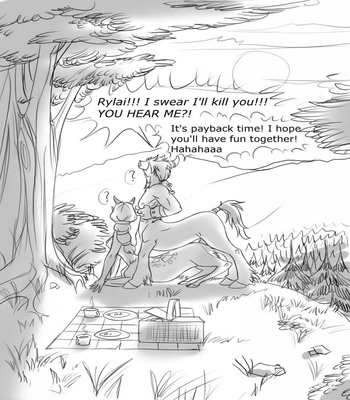 Catching A Satyr comic porn